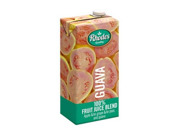 rhodes fruit juices guava