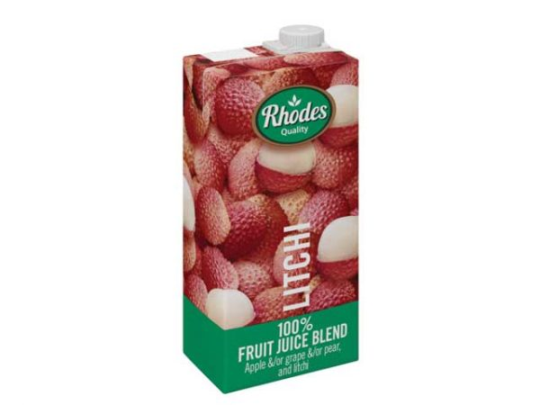rhodes fruit juices litchi