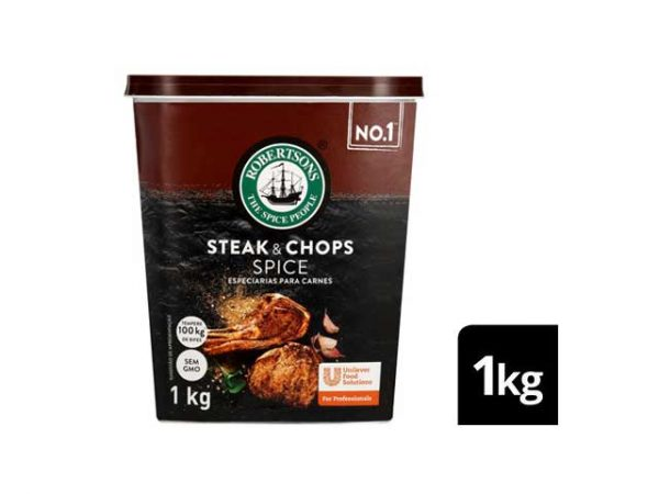 robertson spices steak and chops 1kg