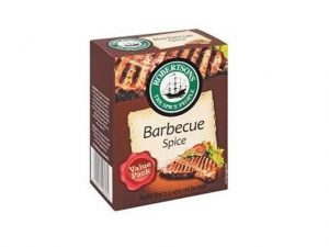 robertsons spices refill box barbecue spice