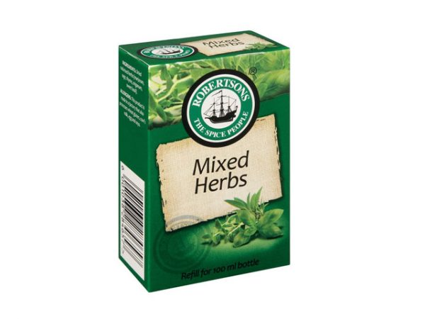 robertsons spices refill box mixed herbs
