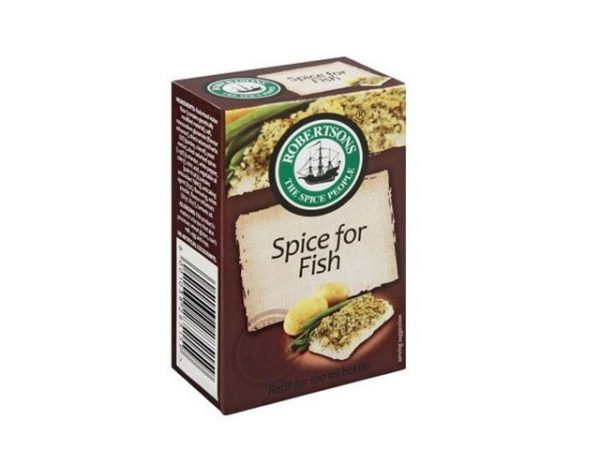 robertsons spices refill box spice for fish