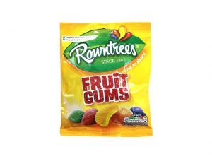 rowntrees fruit gums bag