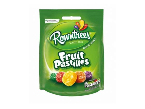 ROWNTREES FRUIT PASTILLES mixed bag