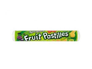 ROWNTREES FRUIT PASTILLES mixed roll