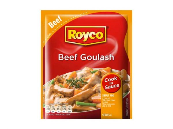 royco cook in sauce beef goulash
