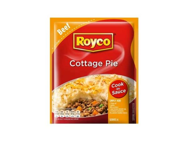 royco cook in sauce cottage pie