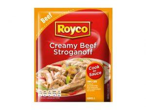 royco cook in sauce creamy beef stroganoff