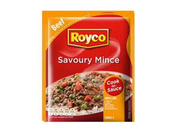 royco cook in sauce savoury mince