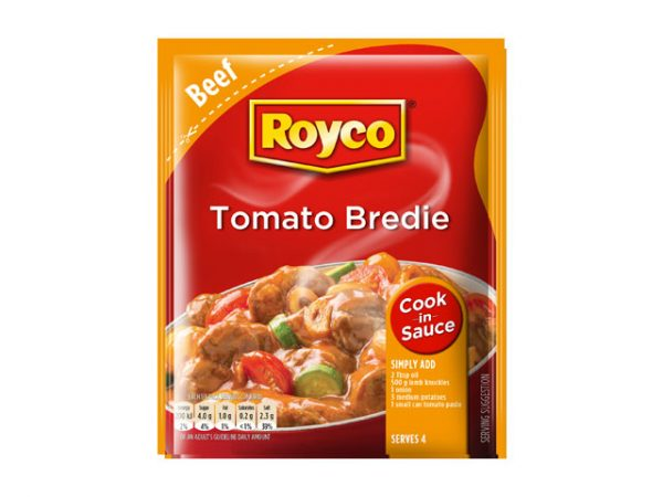 royco cook in sauce tomato bredie