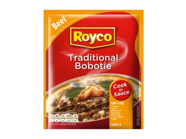 royco cook in sauce traditional bobotie