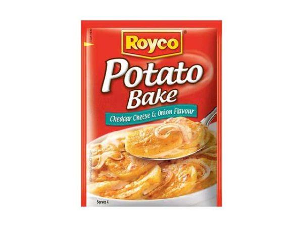 royco potato bake cheddar cheese & onion