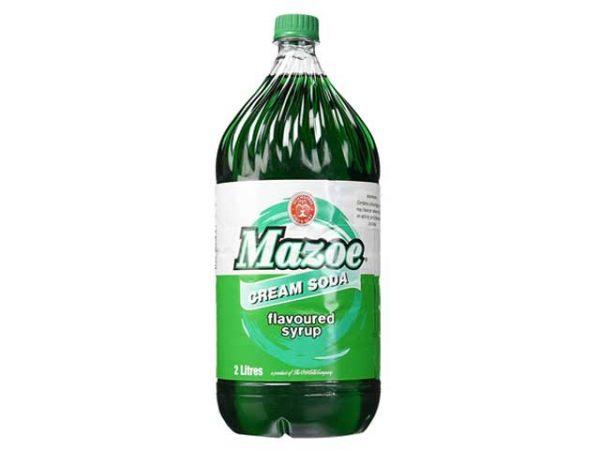SCHWEPPES MAZOE CONCENTRATE - CREAM SODA