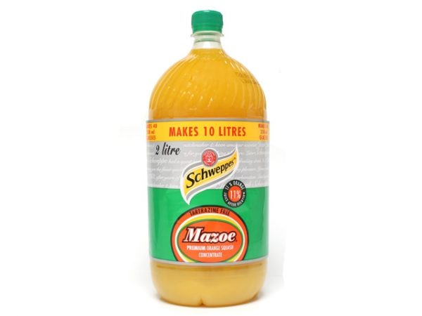 SCHWEPPES MAZOE CONCENTRATE