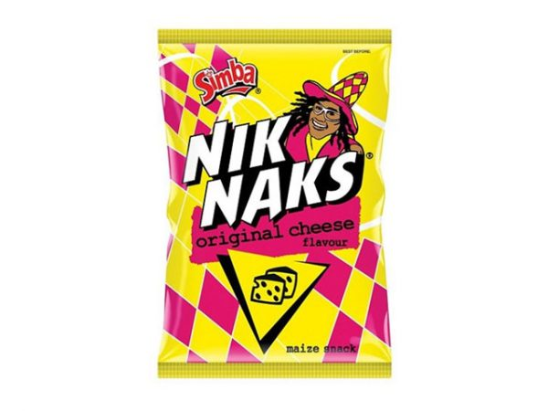 simba nik naks original cheese flavour maize snack