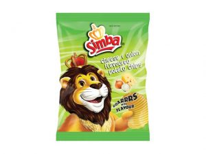 SIMBA potato chips CHEESE & ONION
