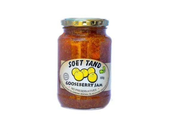 soet tand gooseberry jam