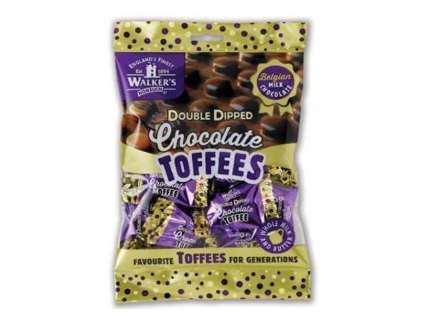 walkers toffees double dipped chocolate