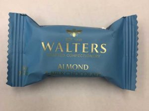 walters bon bon nougat almond milk chocolate