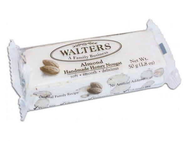 walters handmade honey nougat Almond 50g