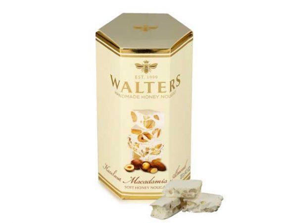 walters handmade honey noughat hazelnut macademia almond