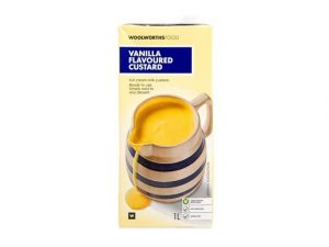woolworths food vanilla flavoured custard