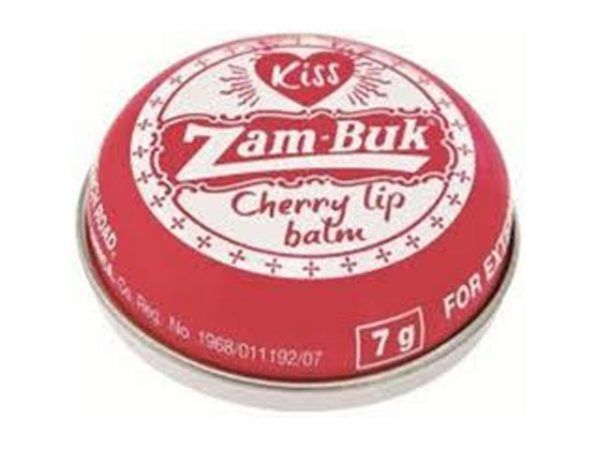 zambuk cherry lip balm